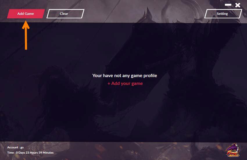วิธีการ Add Profile Games 1