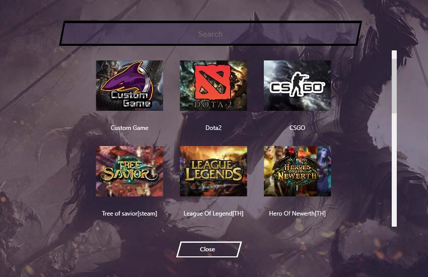 วิธีการ Add Profile Games 2