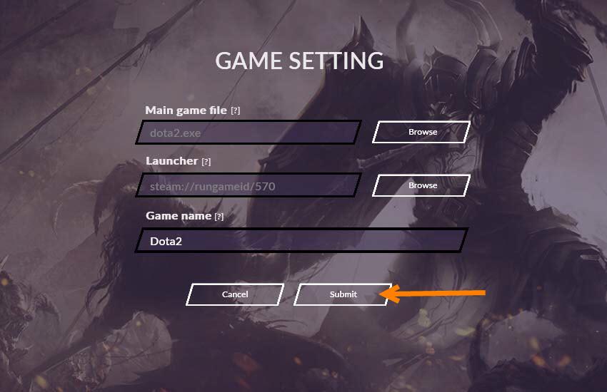 วิธีการ Add Profile Games 3