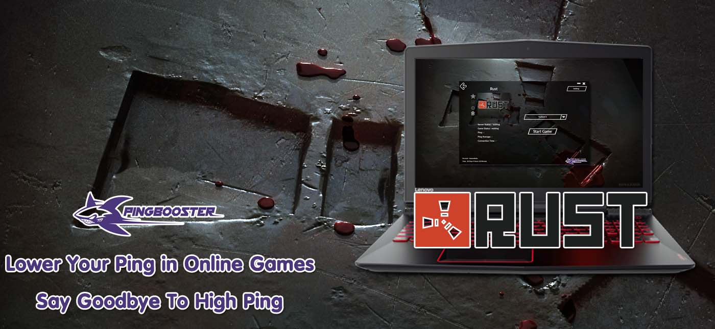 วิธีใช้งาน PingBooster สำหรับ ลดแลค ลดปิงเกม Rust on Steam