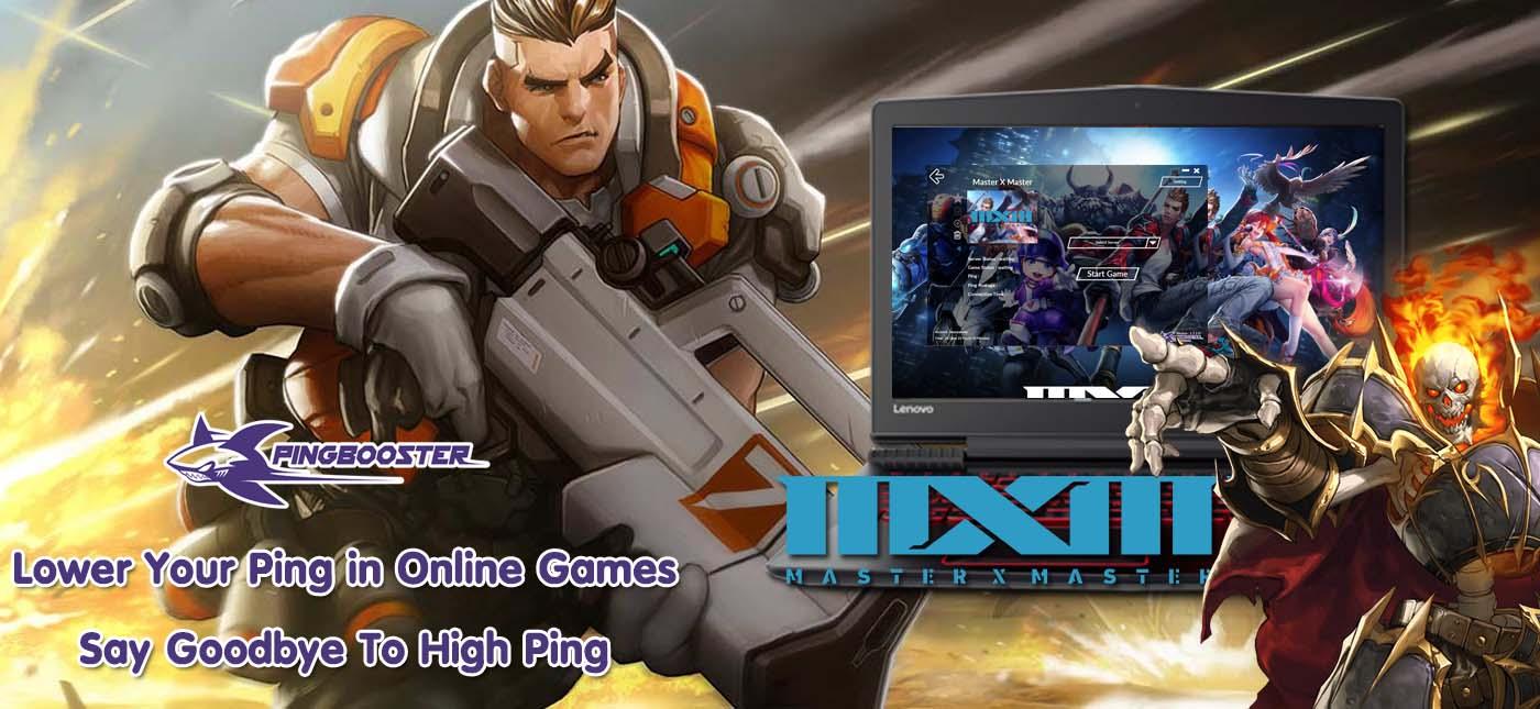 วิธีตั้งค่าเกม Master X Master[MXM] เพื่อทะลุบล็อก ลดแลคลดปิงจาก PingBooster