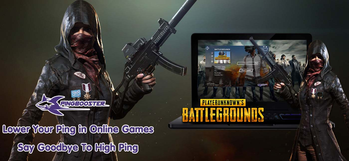 How to play Playerunknown Battlegrounds (PUBG) with PingBooster