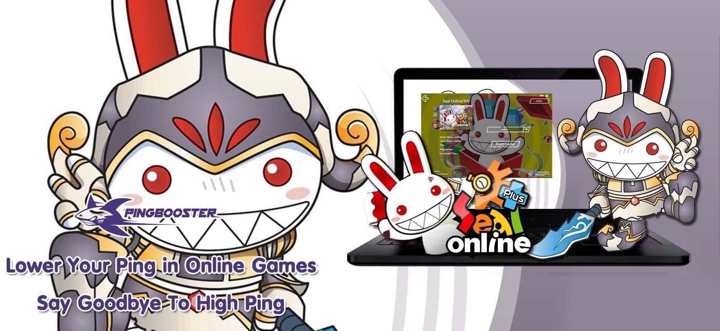 วิธีเล่นเกม Seal Online โดยผ่านโปรแกรม PingBooster