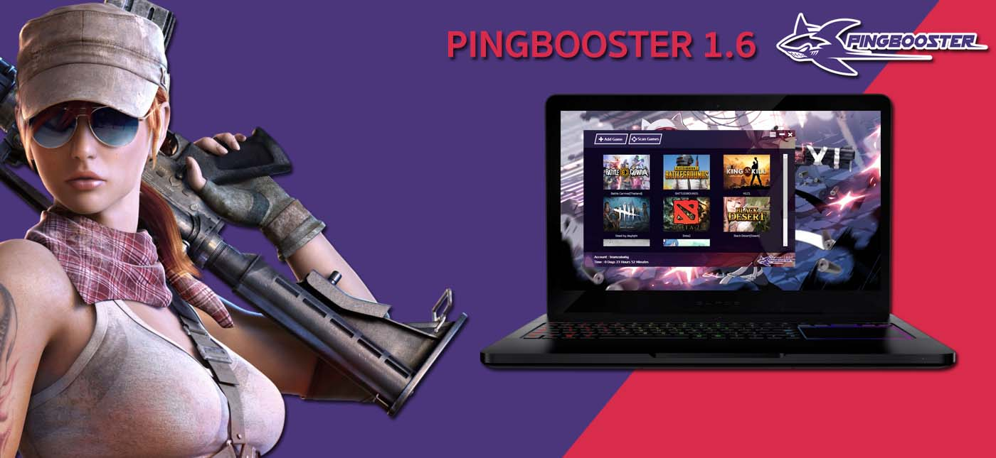 Update Client PingBooster Version 1.6