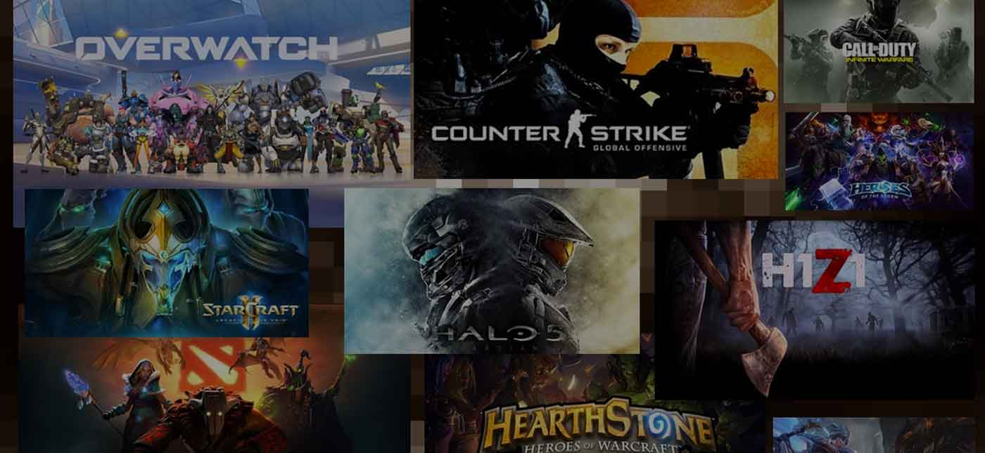 TOP10 Games of 2017 ที่วัดจากยอดเงินรางวัลการแข่งขันอีสปอร์ตตลอดปี