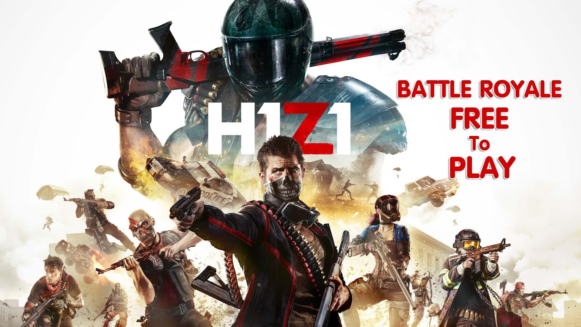 รอค่อยกันมานาน H1Z1  เปิดให้เล่นฟรีแล้วนะ Free to Play