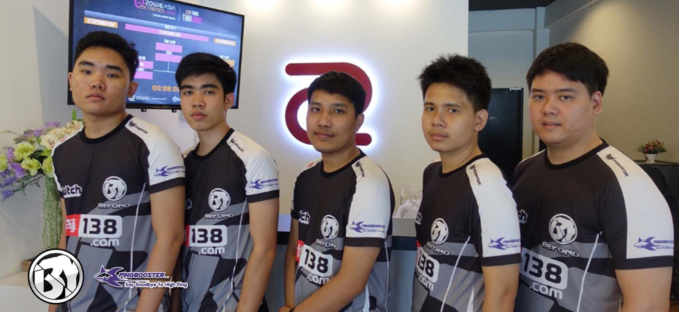Beyond Esports ทีมสัญชาติไทยอีกหนึ่งในวงการ esports
