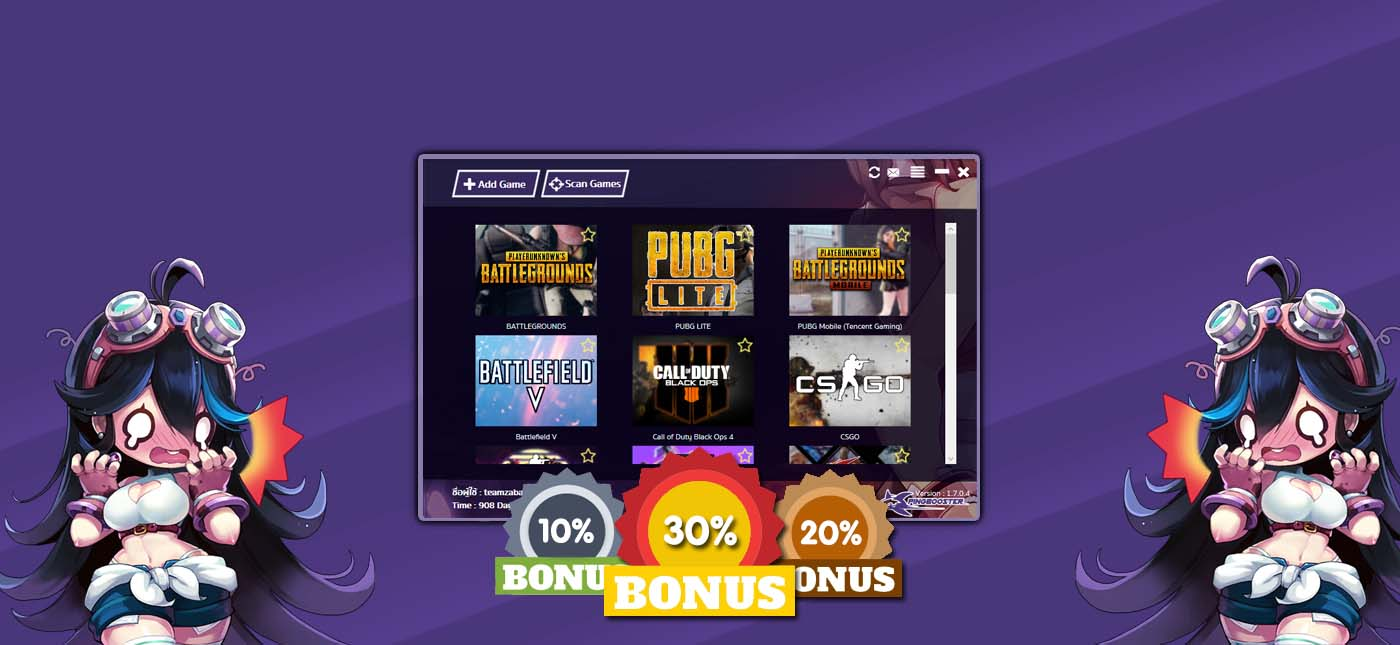 Promotions Extra day Bonus 10% 20% 30%