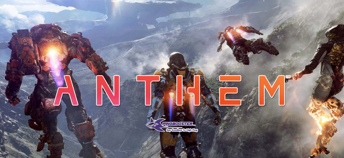 How to use Anthem for PC Origin with PingBooster