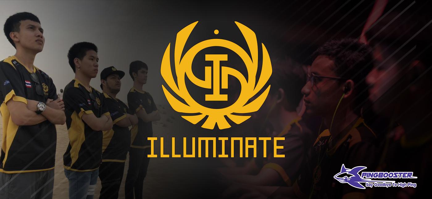 วันนี้มาทำความรู้จักทีม Illuminate Esports สังกัดหน้าใหม่ไฟแรง