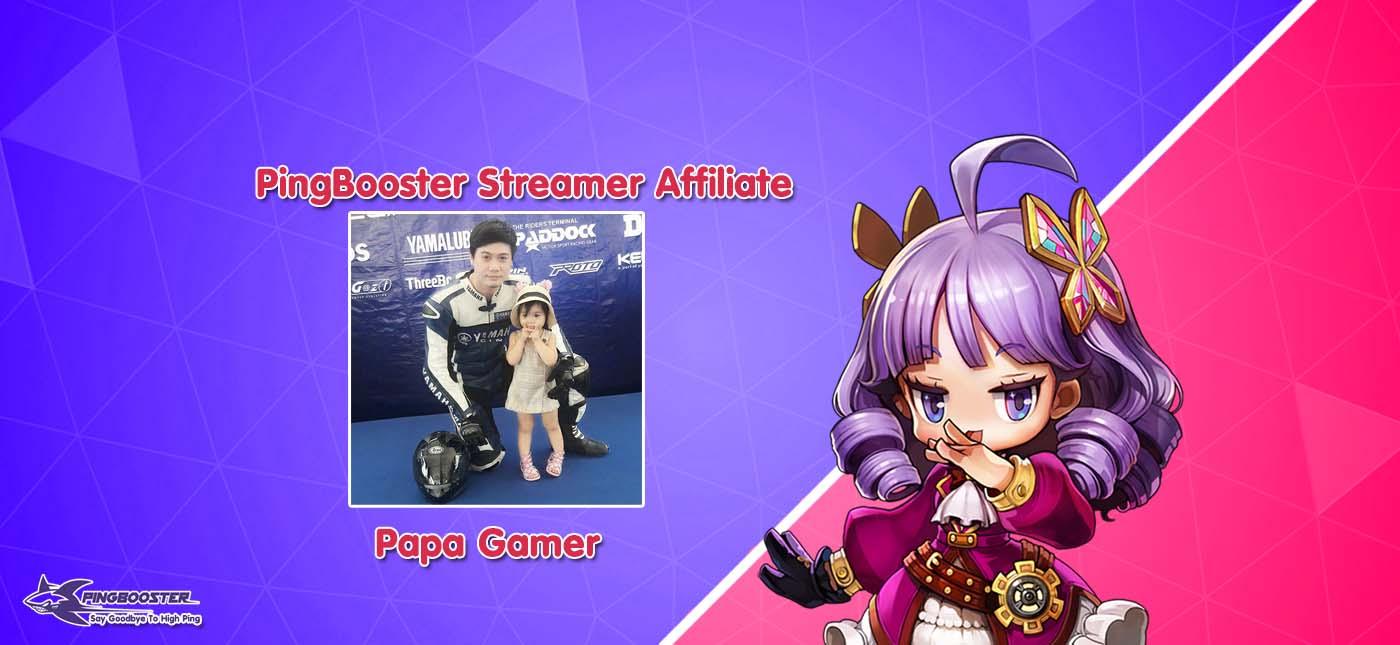 ทดสอบ PingBooster โปรแกรมลดปิง กับเกม PUBG กับ Papa Gamer
