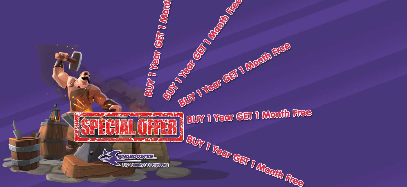 Promotion BUY 1 Year Get 1 Month Free