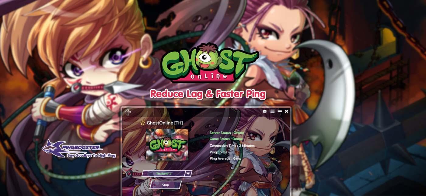มุด Ghost Online TH ด้วย PingBooster VPN