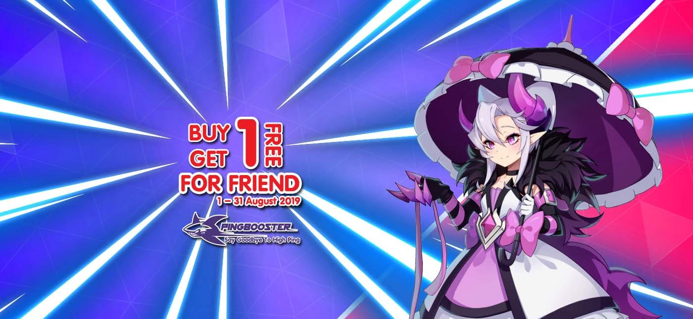 PingBooster Buy 1 Get 1 Free for Friend!