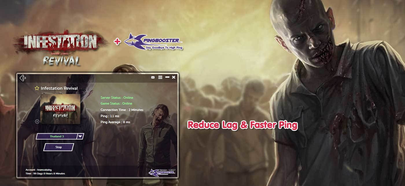 How to Reduce Lag Infestation Revival with PingBooster