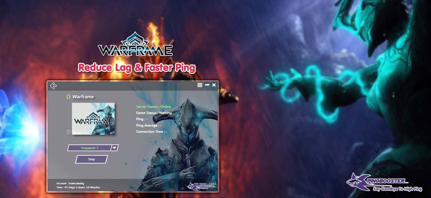How to Reduce Lag Warframe with PingBooster