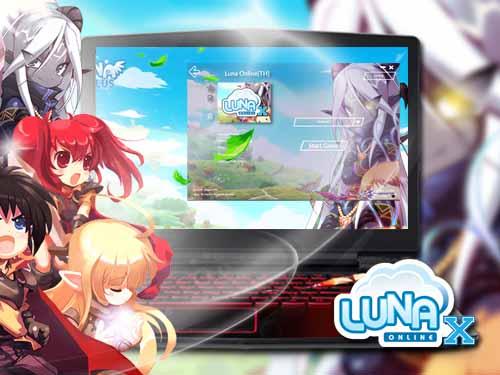 เล่นเกม Luna X โดยใช้โปรแกรม PingBooster
