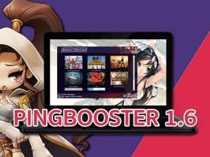 มาแล้ว Update Client PingBooster Version 1.6