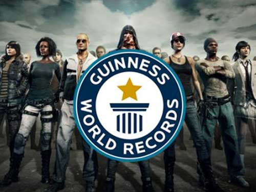 PUBG ถูกบันทึกลงใน Guinness World Record