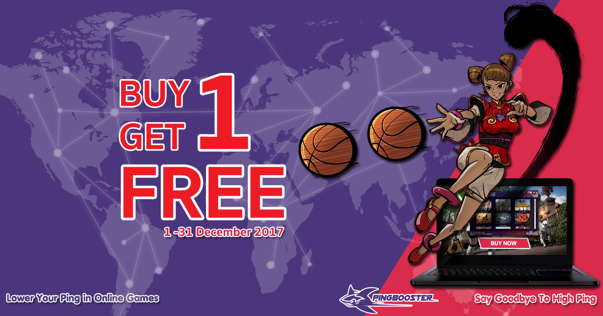 Promotion Buy 1 Get 1 FREE!!!