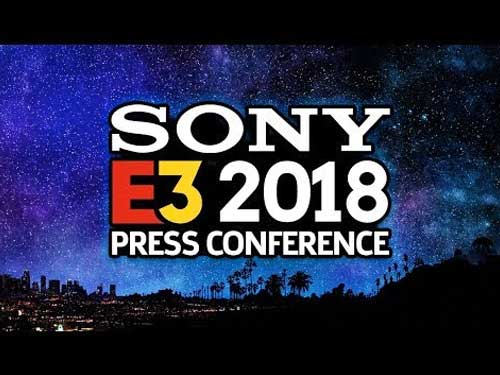 งาน E3 2018 จากค่าย Sony