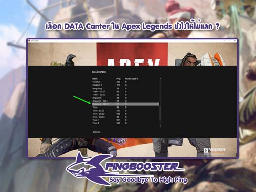 เข้าเล่น Apex Legends ยังไงให้ไม่แลควันนี้ PingBooster มีความรู้มาบอก