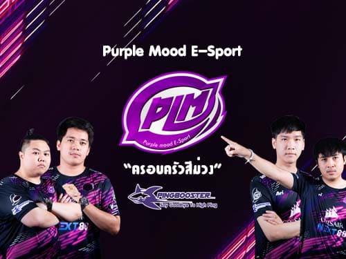 Purple Mood E-Sport ครอบครัวสีม่วง
