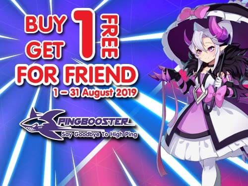 PingBooster ซื้อ 1 แถม 1 ให้เพื่อน ฟรี!