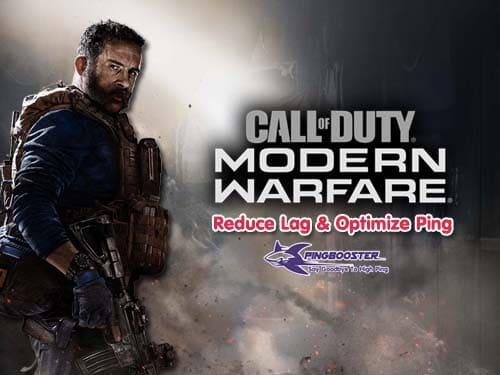 แก้แลค แก้ปิง Call of Duty Modern Warfare ต้อง VPN PingBooster