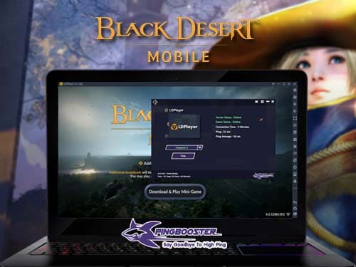 วิธีเล่นเข้าเล่นเกม Black Desert Mobile เซิร์ฟเวอร์ Global ผ่านโปรแกรม LDPlayer