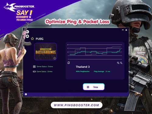 How to play PUBG with PingBooster Reduce Lag Game