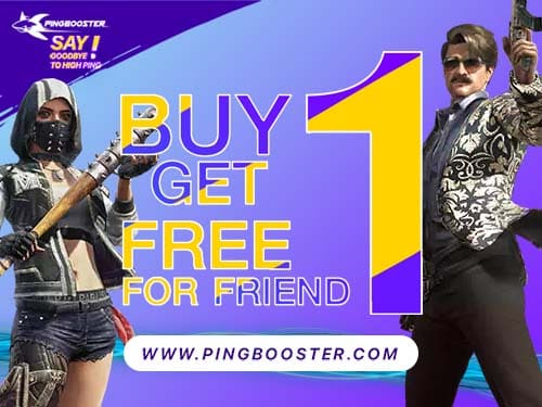 Invite your friends to joinBuy 1 Get 1 Free