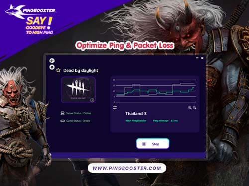 Optimize Ping Dead by Daylight with PingBooster