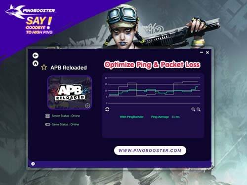 เล่น APB Reloaded มีการแลค เกมไม่ลื่น ปิงสูง แก้ได้