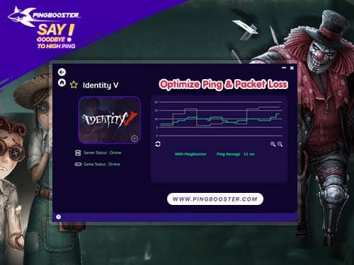 How to Reduce Lag identity V with PingBooster