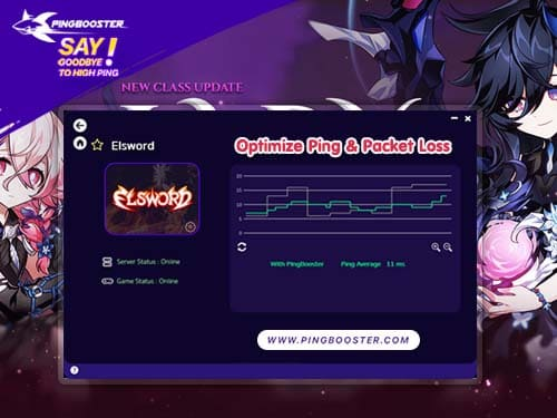 Optimize Ping Elsword Online with VPN  PingBooster