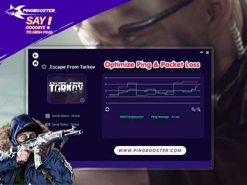แก้แลค แก้ปิง Escape from Tarkov ต้อง PingBooster VPN