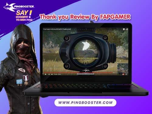 FAPGAMER  รีวิว โปรแกรม PingBooster สำหรัลเล่นเกม PUBG จะเป็นยังไงมาติดตามกันเลย
