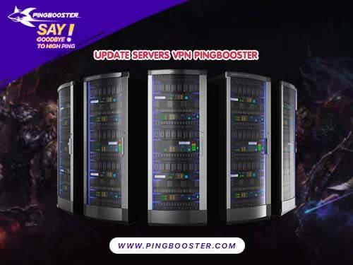 เพิ่มและอัพเดท Server PingBooster 2020 บอกเลยจัดเต็ม