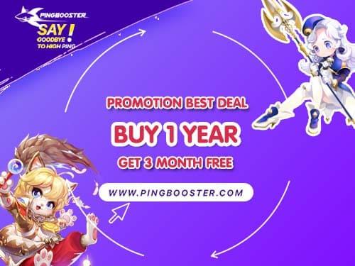 โปรโมชั่น Best Deal ชำระค่าบริการ 1 ปี แถมอีก 3 เดือนฟรีและคุ้มค่าที่สุด
