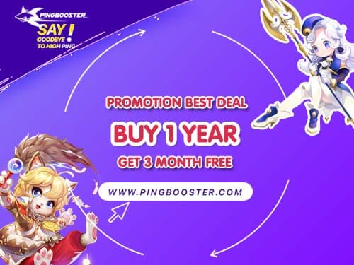 Best Deal BUY 1 GET 3 MONTH FREE