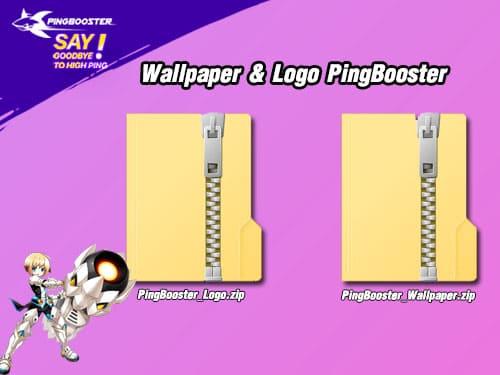 แจก Wallpaper & Logo PingBooster เอาไว้ตั้งหน้าจอเท่ๆ Download ไปใช้ได้ฟรีๆ