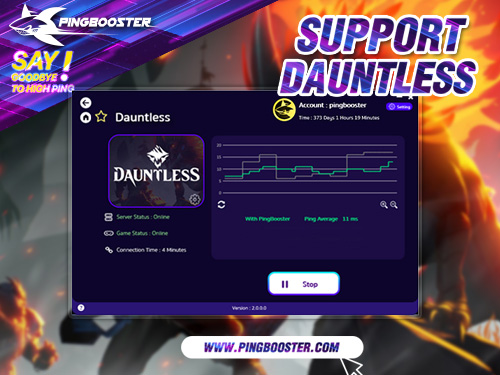 How to Reduce Lag Dauntless Online with PingBooster