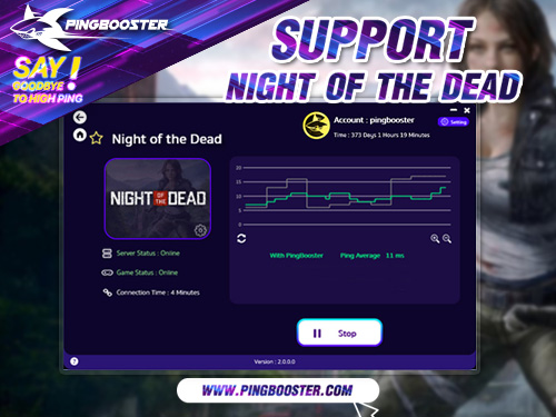PingBooster VPN Support Night of the Dead