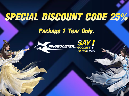 PingBooster offers Promotion a Special Discount code 25%