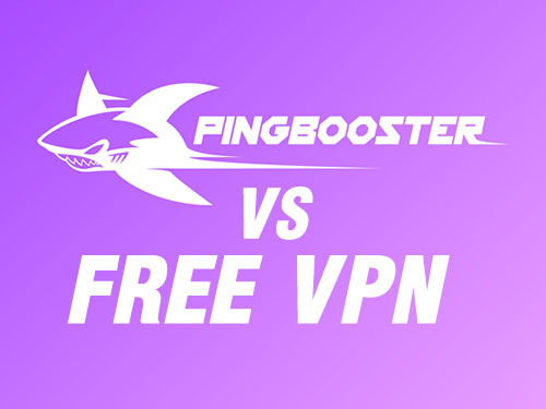 VPN FREE vs PingBooster ต่างกันอย่างไร?