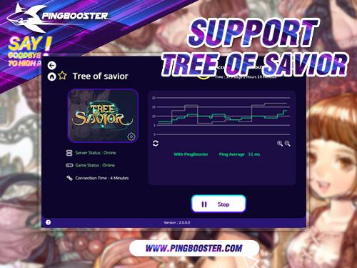 วิธีเล่นเกม Tree of Savior [TOS] โดยผ่านโปรแกรม PingBooster ลดแลคลดปิงได้แน่นอน