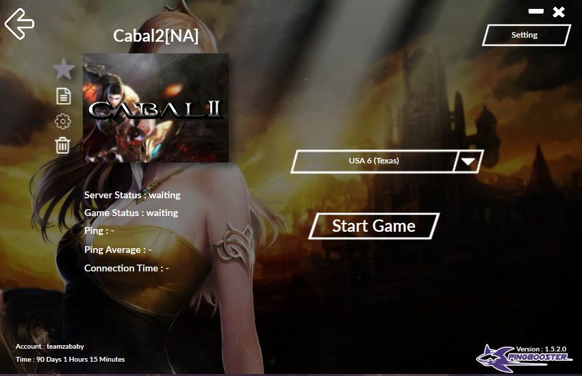 Cabal 2 By PingBooster
