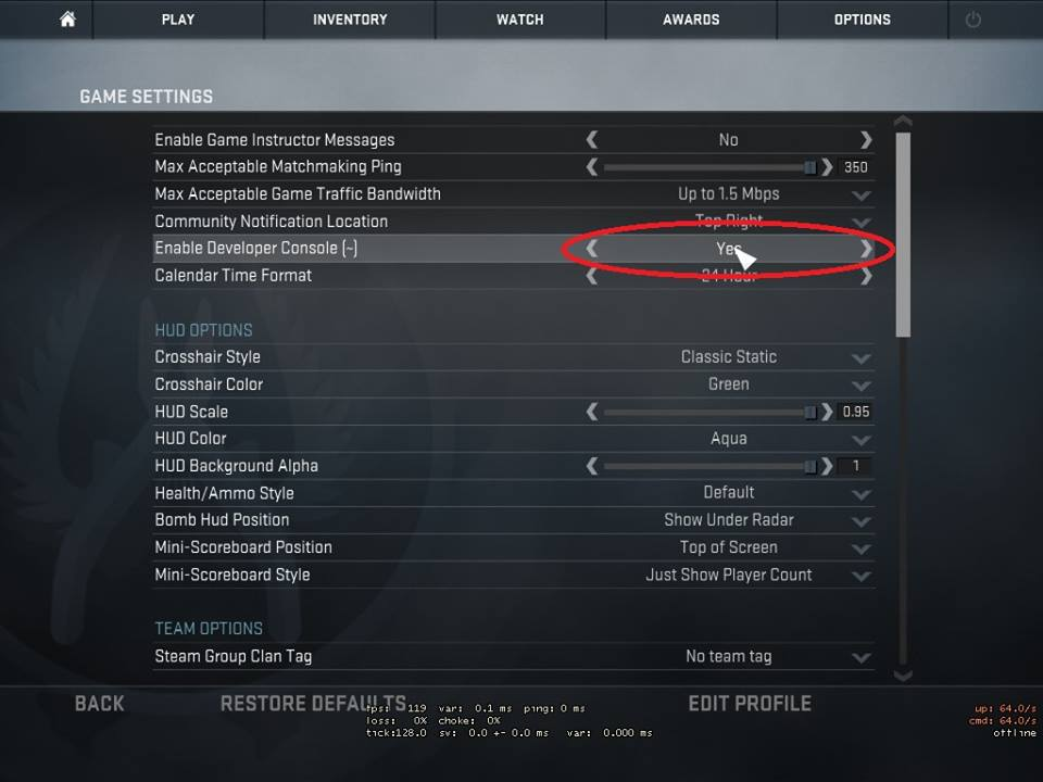 how-to-check-ping-csgo-vpn-pingbooster