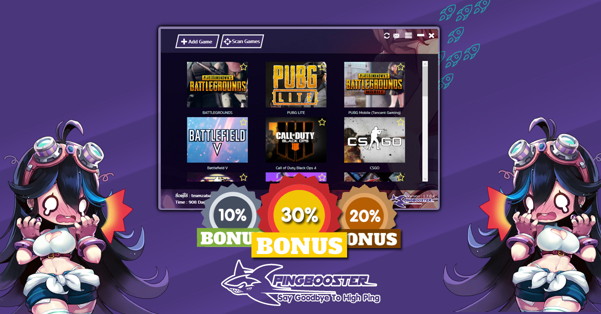 Promotions Extra day Bonus 10% 20% 30%